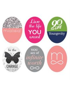 Logos Oval Locket Backdrops